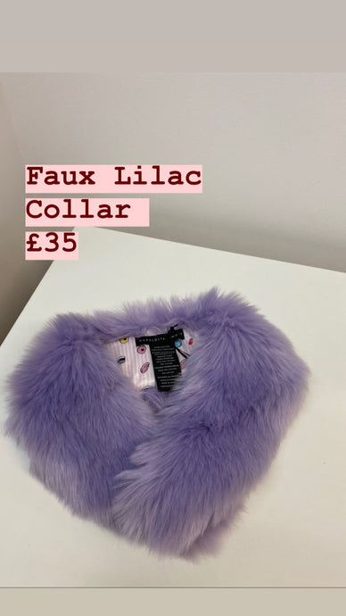 Faux Lilac Collar