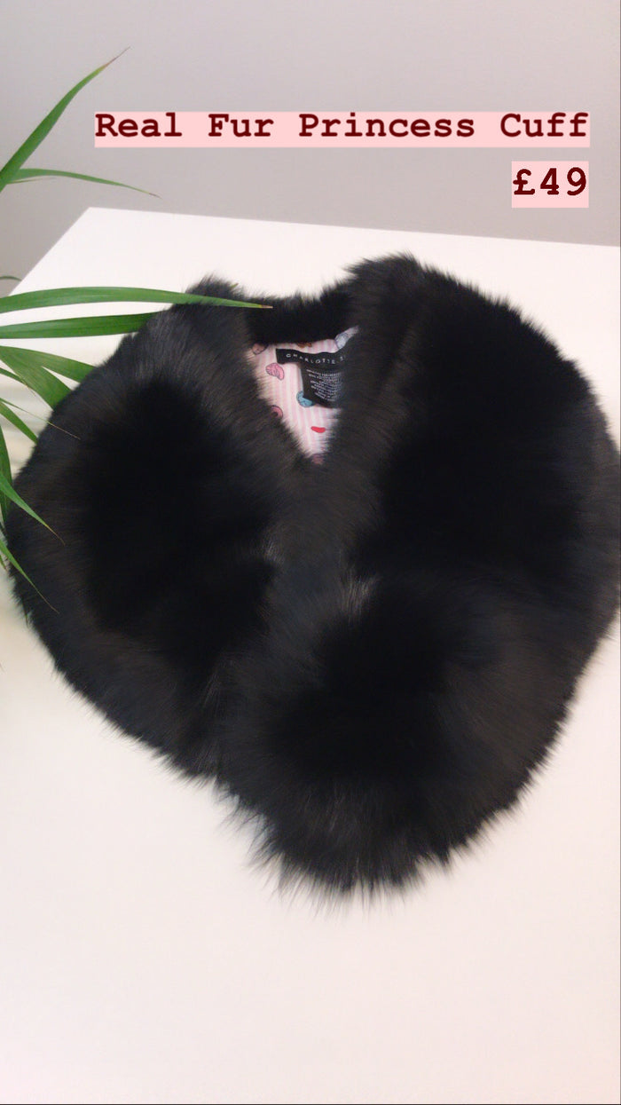 Real Fur Princess Cuff