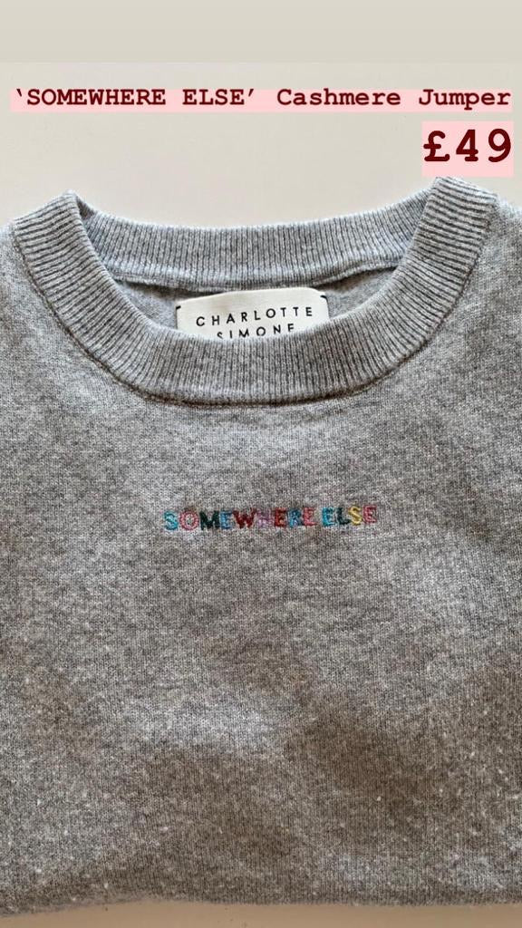 'Somewhere Else' Jumper