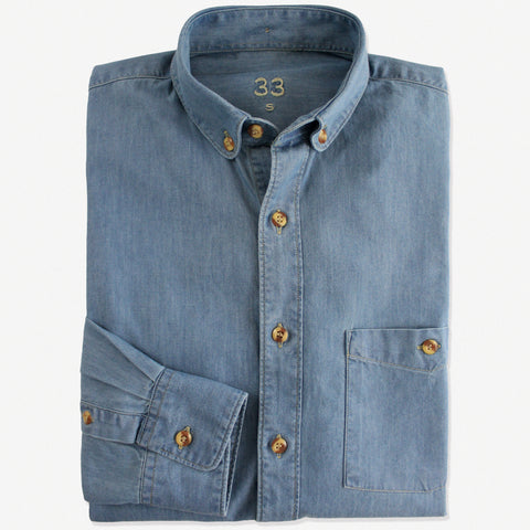 NEW Slim-Fit Denim Shirt