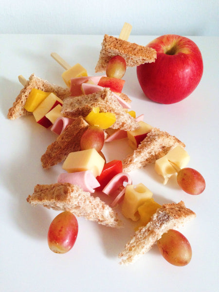 Healthy Snack - Sandwich Skewers
