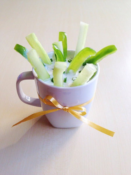 Healthy Lunch Ideas - Veggie Cup