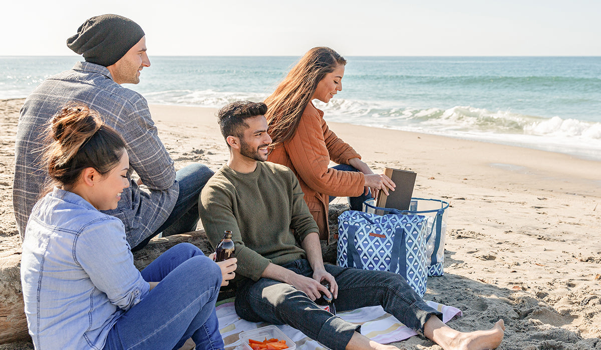 30 Can 2-in-1 Beach Tote