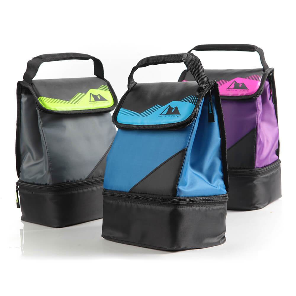 Lunch bags with anti-microbial protection