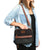 Arctic Zone® Canvas Expandable - Black - Model carry, horizontal