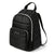 Arctic Zone® Quilted Cooler Backpack - Black - Front, closed