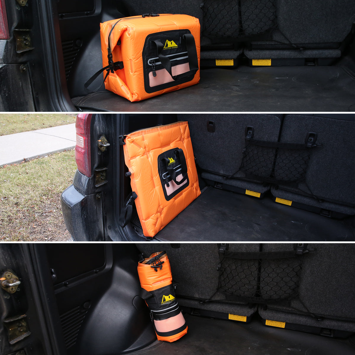 Arctic Zone® 30 Can Self-Inflating Cooler - car