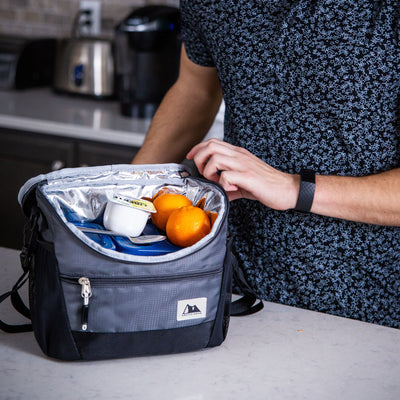 High Performance Meal Prep Day Pack - Black - Lifestyle, Packing asnack