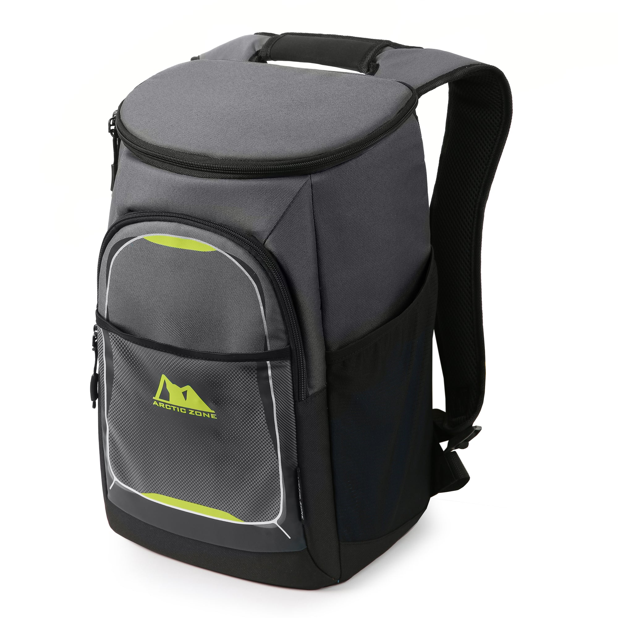 LAKE /& TRAIL 24 CAN LARGE DUFFEL COOLER GREEN//GRAY