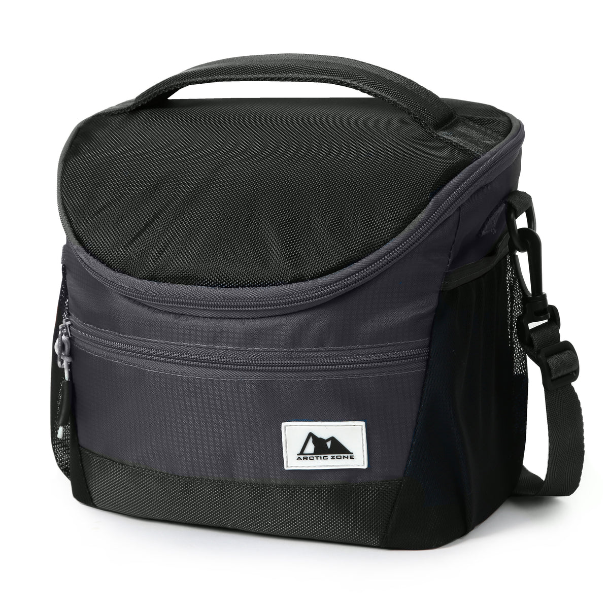 High Performance Meal Prep Day Pack - Black - Front, closed