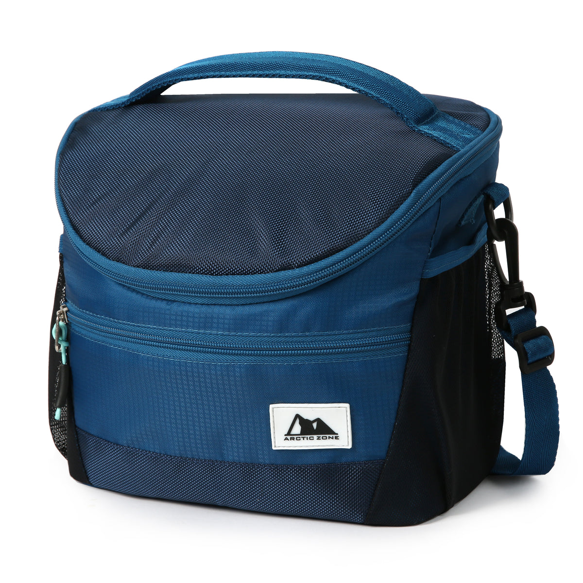 High Performance Meal Prep Day Pack - Blue - Front, closed