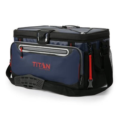 48 Can Titan Deep Freeze® Zipperless™ Cooler  - Navy