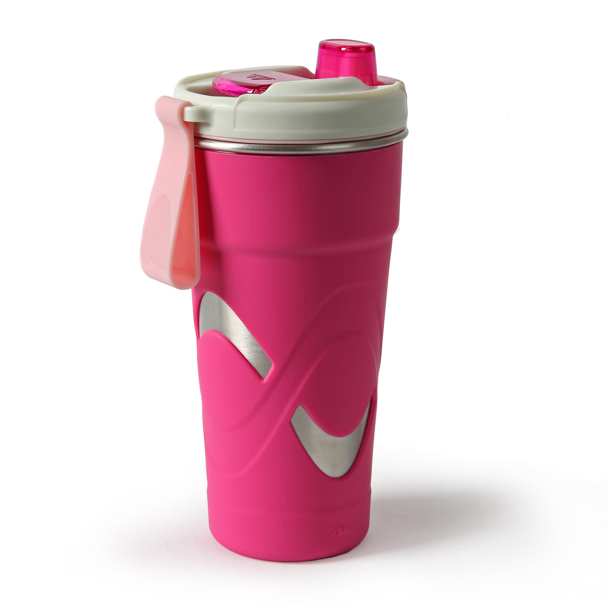 Arctic Zone® 20oz Super Chug™ Stainless Steel - Pink - Back