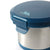 Leak Proof 16oz Thermal Bowl With Safe & Easy 4 Lock Lid - Navy - Lock Lid