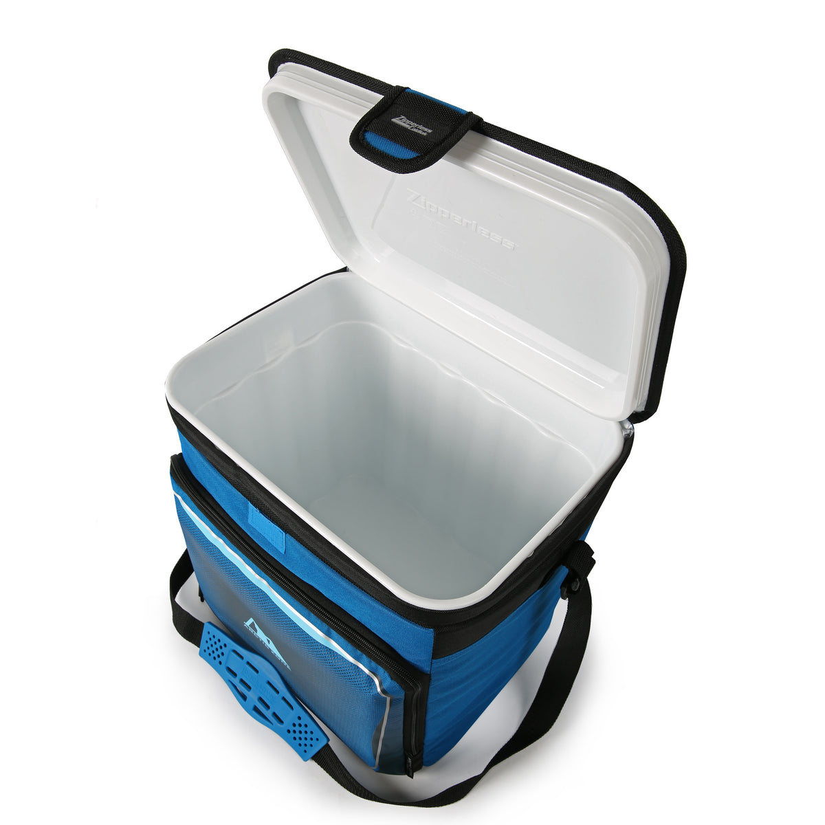 Arctic Zone® 40 Can Zipperless HardBody Cooler - Blue - Open, inside