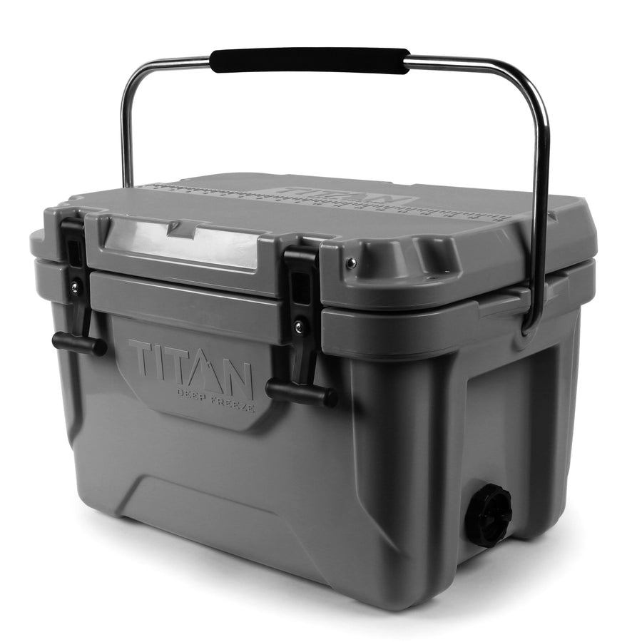 Titan Deep Freeze® 20Q High Performance Cooler - front - with microban