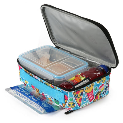 Arctic Zone® Ice Walls® Lunch Box  - Cute food - Open, propped