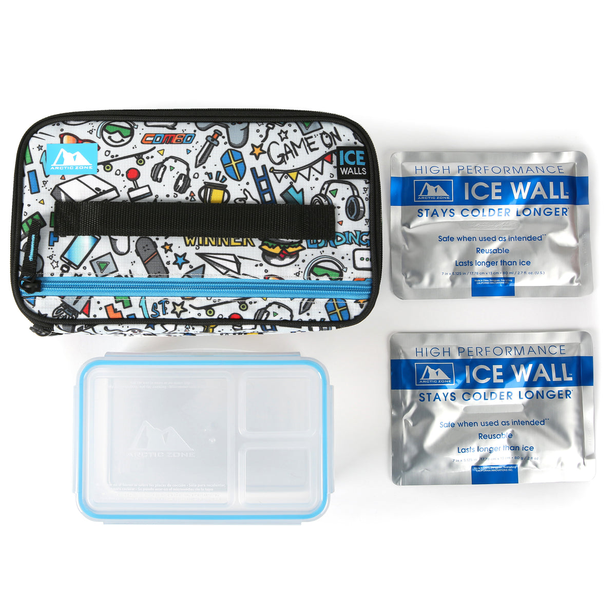 Arctic Zone® Ice Walls® Lunch Box - video game - Lunch box with accessories