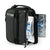Titan Deep Freeze® Expandable Lunch Box - Black - Front, 2 ice walls
