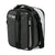 Titan Deep Freeze® Expandable Lunch Box - Black - Expanded, closed