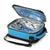 Titan Deep Freeze® Expandable Lunch Box - Blue - Open, empty