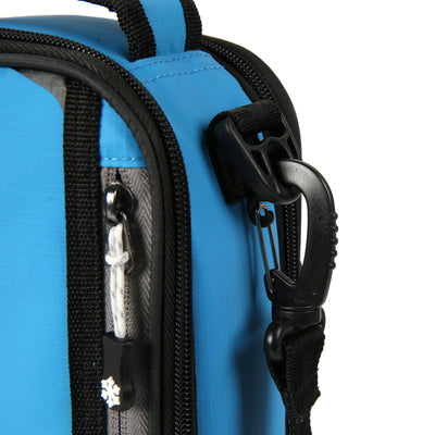 Titan Deep Freeze® Expandable Lunch Box - Blue - Removable shoulder strap