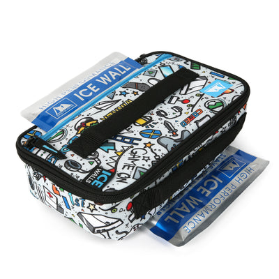 Arctic Zone® Ice Walls® Lunch Box - video game - 2 high performance ice walls