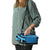 Titan Deep Freeze® Expandable Lunch Box - Blue - Carry, horizontal with shoulder strap