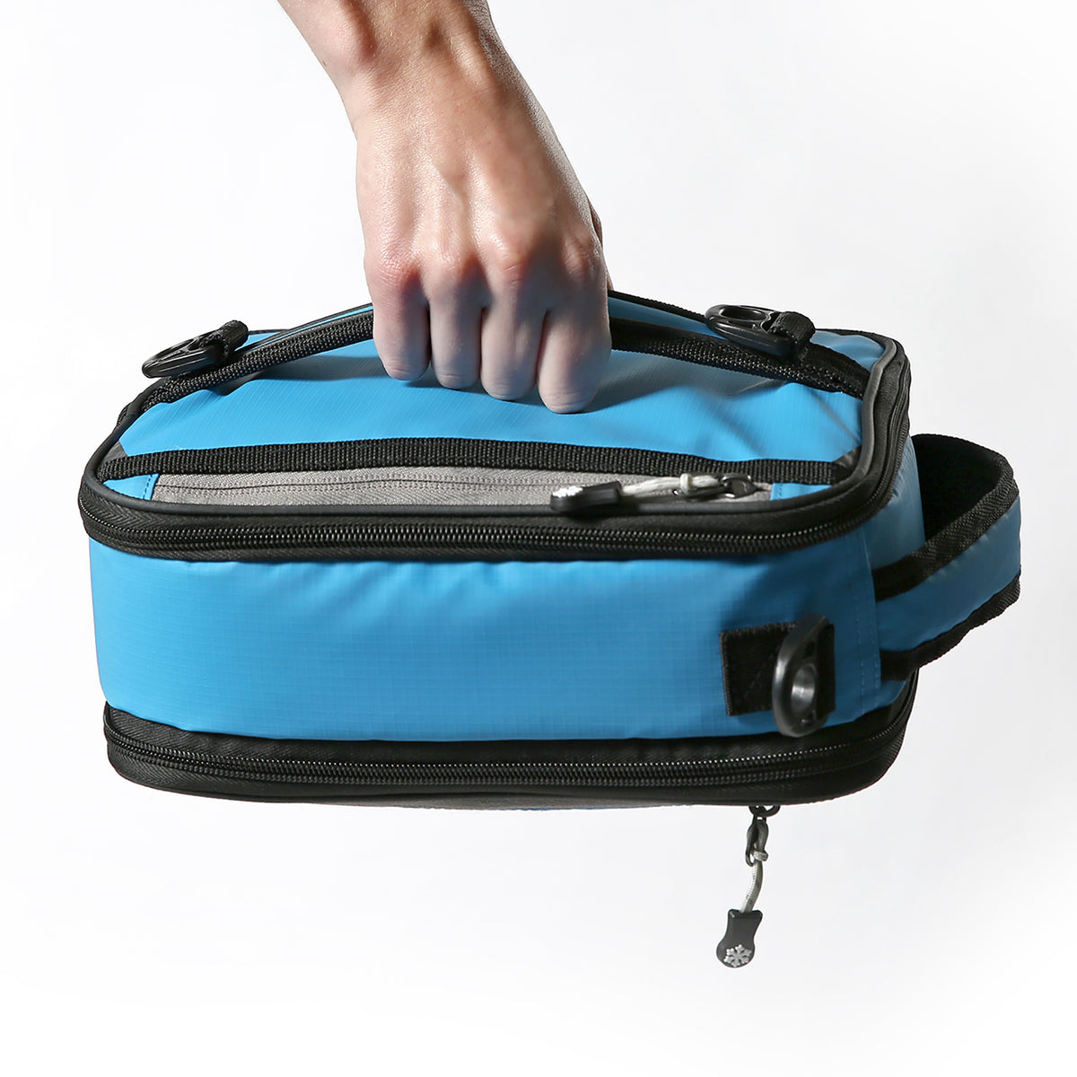 Titan Deep Freeze® Expandable Lunch Box - Blue - Carry, horizontal