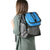 Titan Deep Freeze® Expandable Lunch Box - Blue - Carry, attached to backpack