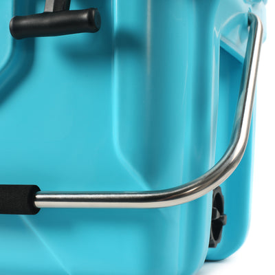 Titan Deep Freeze® 20Q Premium Ice Chest - Blue - Padded handle