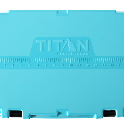 Titan Deep Freeze® 20Q High Performance Cooler - Lid detail