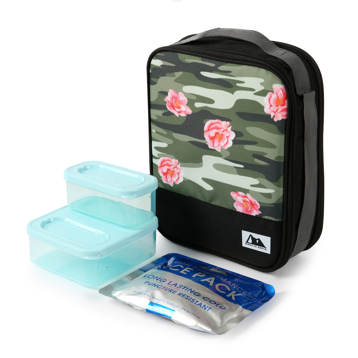 Arctic Zone Expandable Urban Lunch Pack - Rose Camo - Lunch Pack and accessories