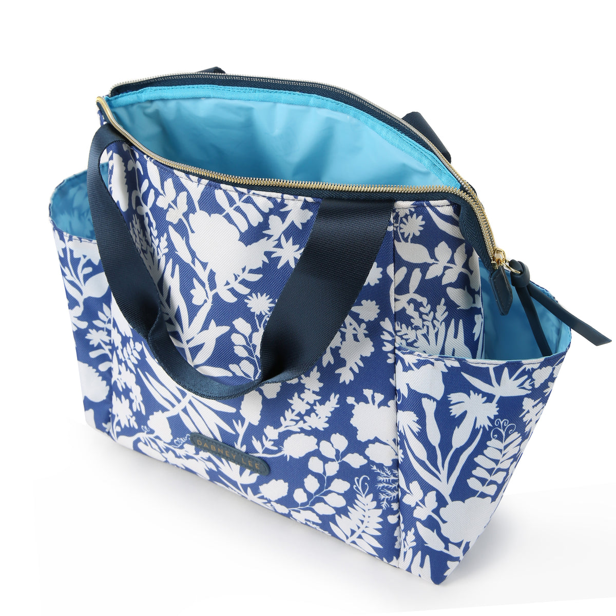 Arctic Zone® Dabney Lee Karina Tote - Summer Fling - Open, empty
