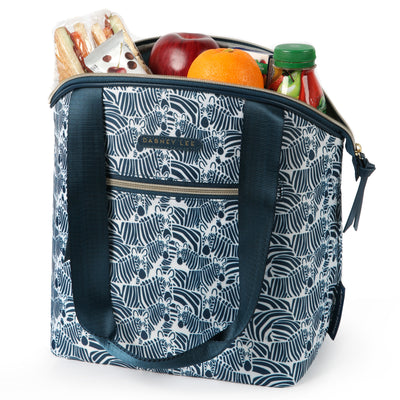 Arctic Zone® Dabney Lee Soft Tote - Bruno - Open, propped