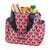 Arctic Zone® Dabney Lee Karina Tote - Polly Coral - Open, propped