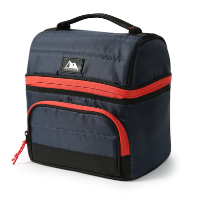 Arctic Zone® High Performance Ultimate Secret Lunch Bucket - Navy - Front, closed