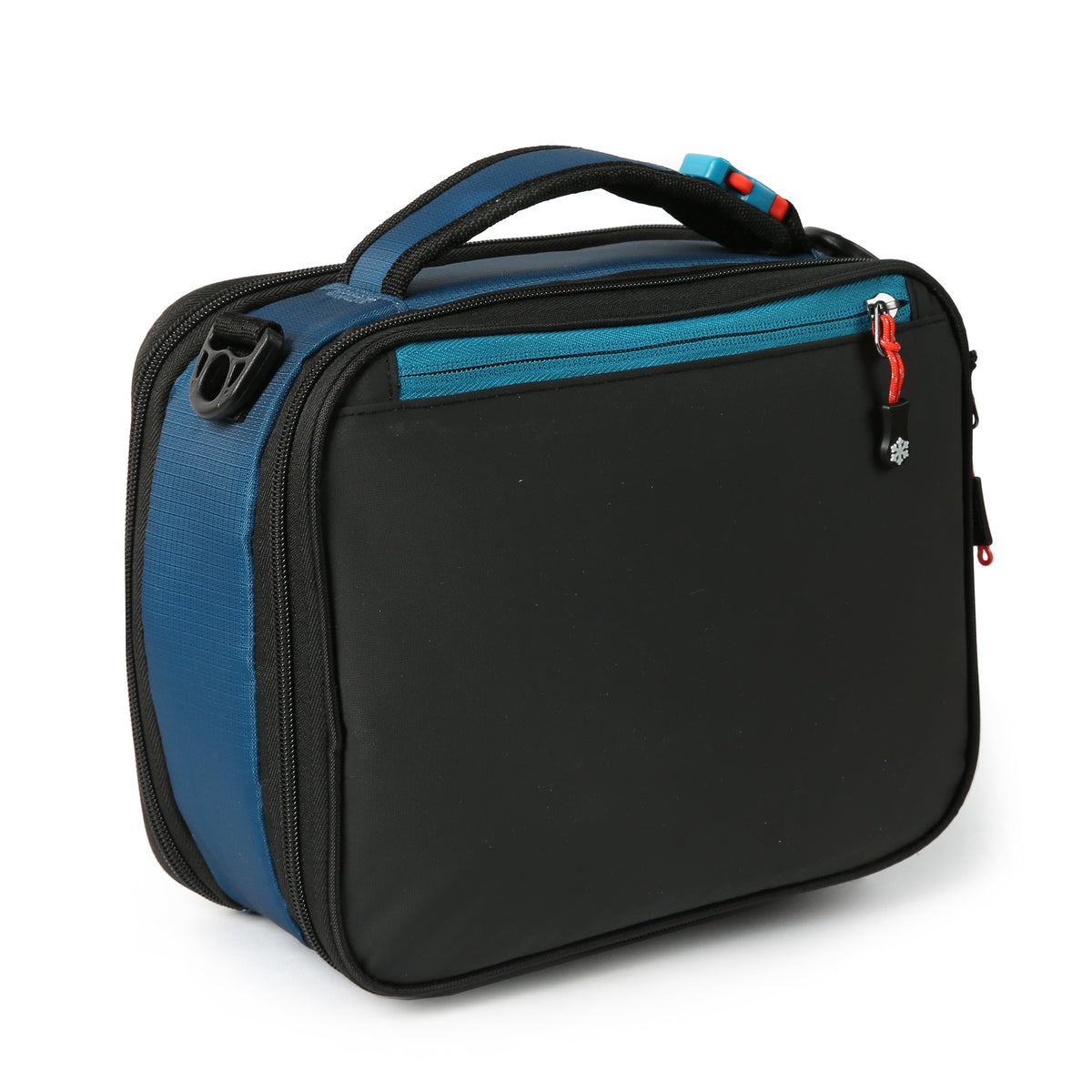 Titan Deep Freeze® High Performance Expandable Horizontal Lunch Pack - Blue - Back