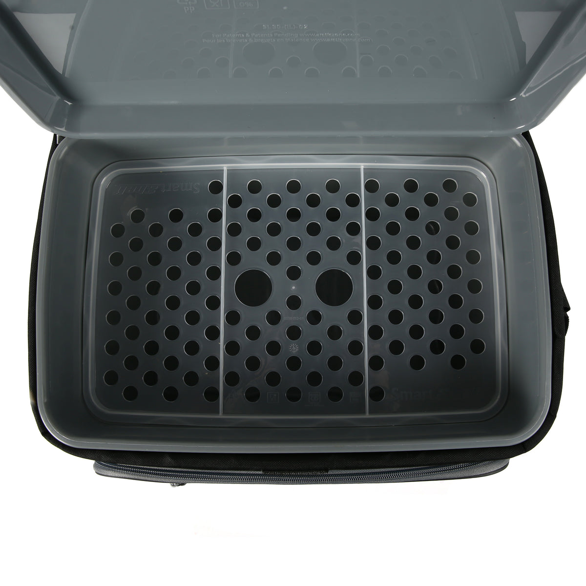Titan Deep Freeze® 30 Can Zipperless™ Cooler - Navy - Inside