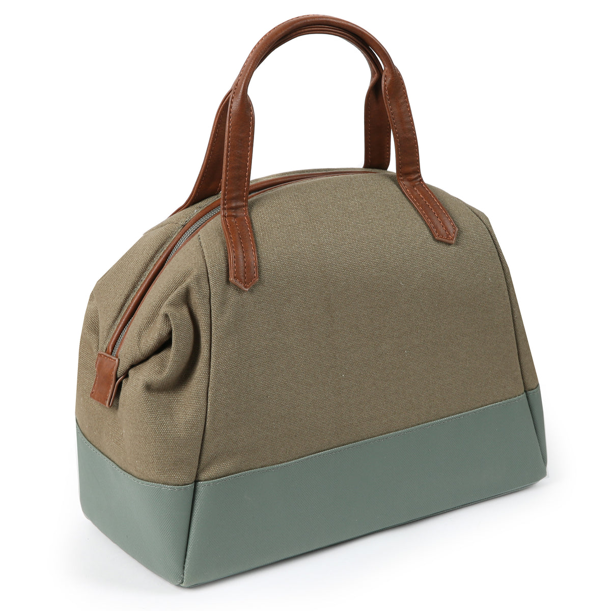 Arctic Zone® Canvas Lunch Tote - Moss - Back