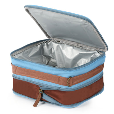 Arctic Zone® Canvas Expandable - Blue - Open, empty