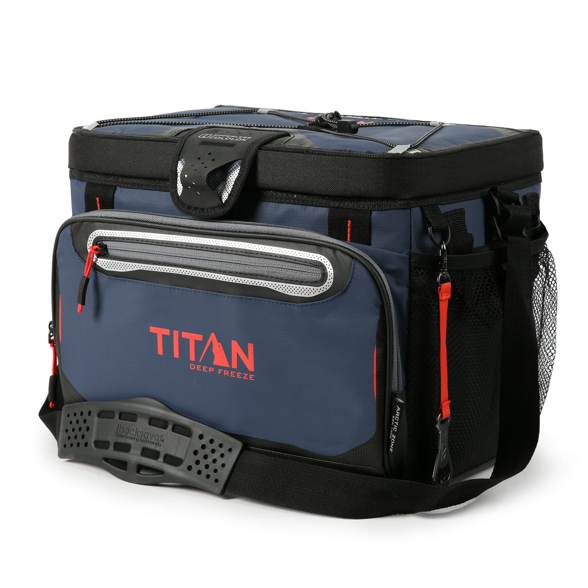 Titan Deep Freeze® 30 Can Zipperless™ Cooler - Navy