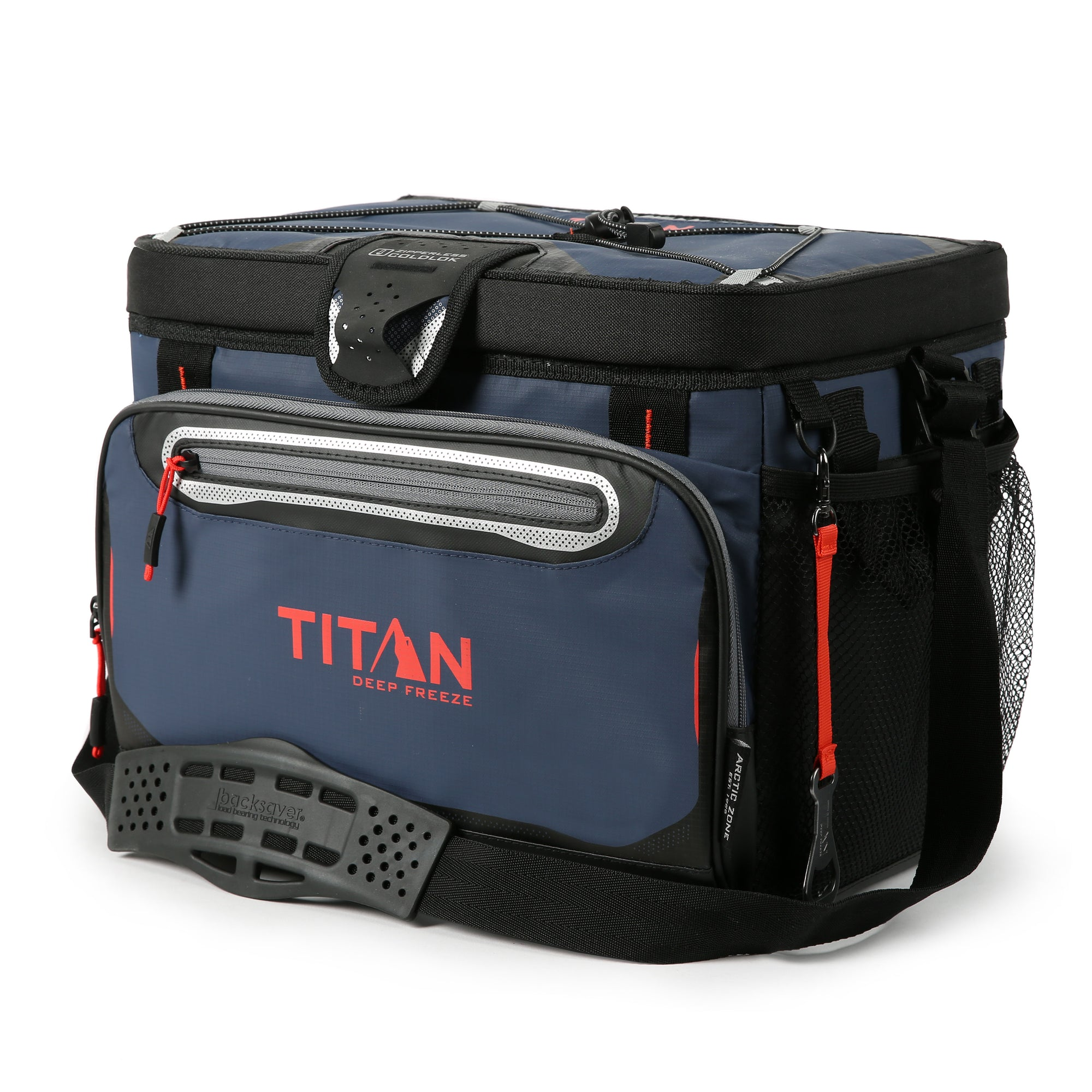 Titan Deep Freeze® 30 Can  Zipperless™ HardBody® Cooler - Navy