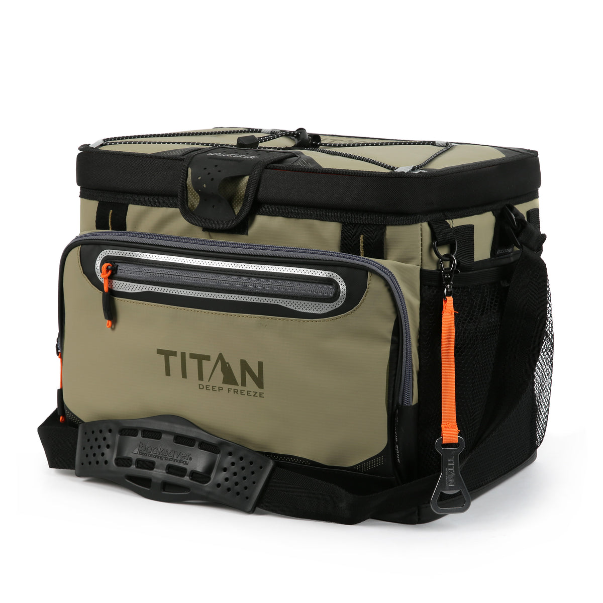 Titan Deep Freeze® 30 Can Zipperless™ Cooler - Moss