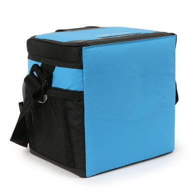 Titan Deep Freeze® 9 Can Zipperless™ HardBody® Cooler - Blue - Back