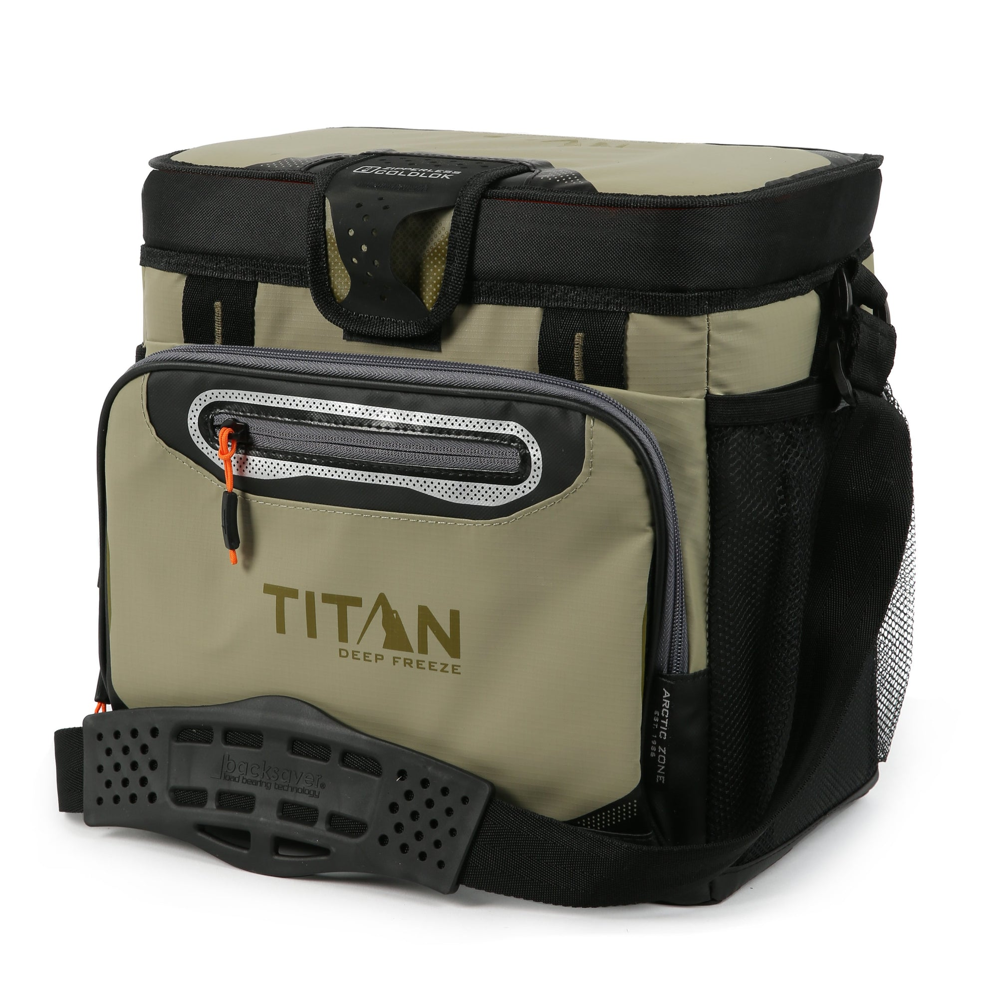 Titan Deep Freeze® 16 Can Zipperless™ Cooler - Moss