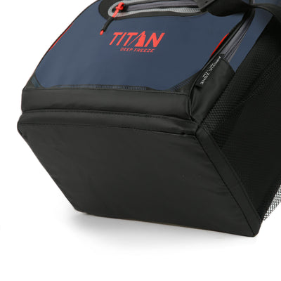 Titan Deep Freeze® 16 Can Zipperless™ HardBody® Cooler - Navy - Bottom