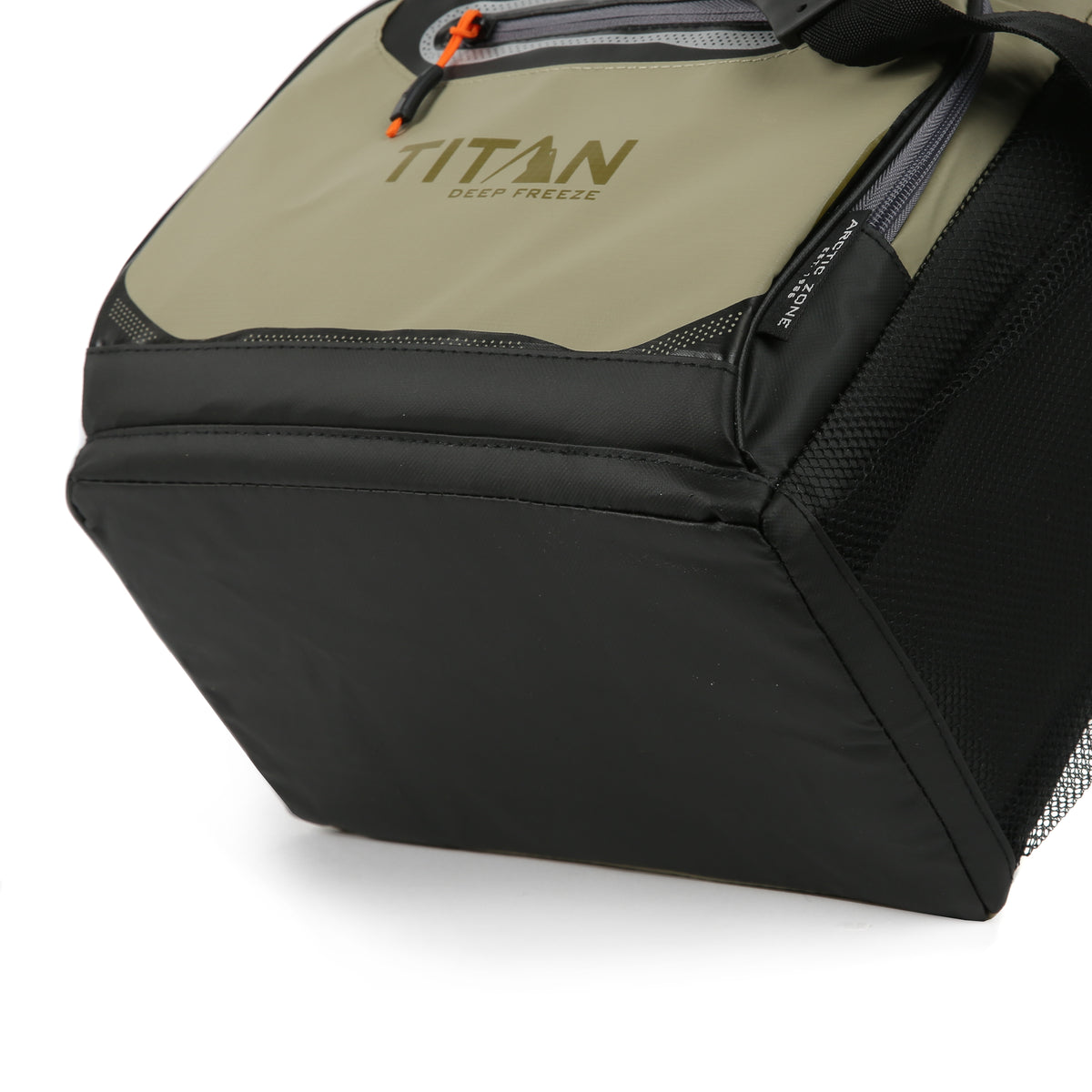 Titan Deep Freeze® 16 Can Zipperless™ HardBody® Cooler - Moss - Cooler bottom