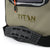 Titan Deep Freeze® 16 Can Zipperless™ HardBody® Cooler - Moss - Backsaver® shoulder strap with non-slip shoulder pad