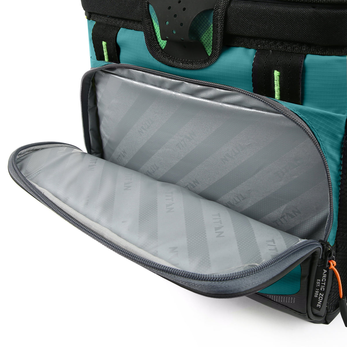 Titan Deep Freeze® 16 Can Zipperless™ HardBody® Cooler - Pine - Insulated front pocket
